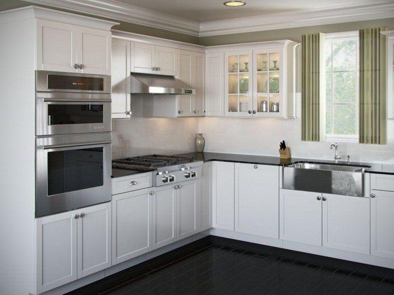 41 Elegant L Shaped Kitchen Design Ideas 36 In 2020 Kitchen