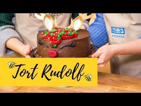 świąteczny Tort Renifer Rudolf Tort Dla Fanów Czekolady