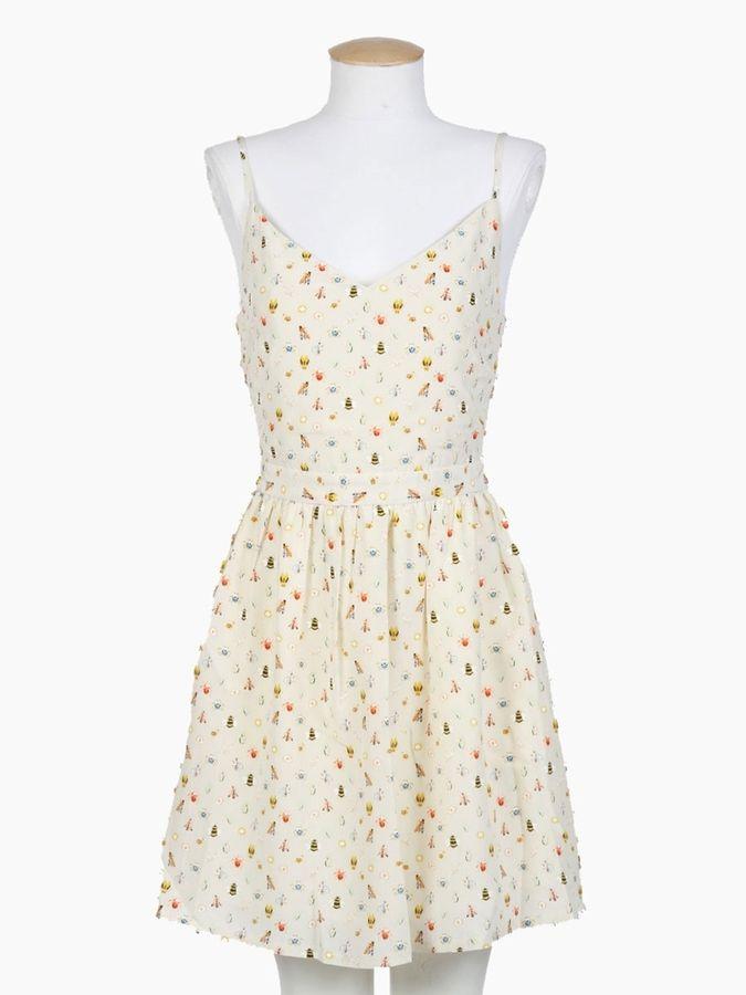fd8f1fa1bc Joie Hudette Silk Bug Print Dress on shopstyle.com