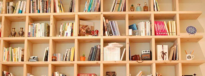 Zelf houten boekenkast maken | Interieur | Pinterest