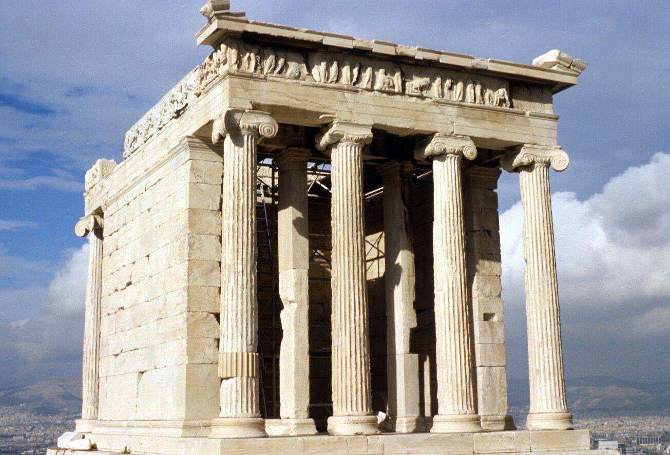 Templo de atenea nike cal crates arte griego poca for Epoca clasica