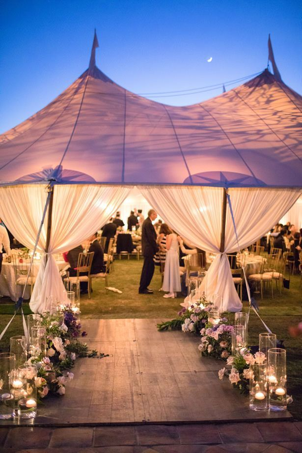An Elegant Tent Wedding with a Rustic and Ethereal Twist #weddingreception