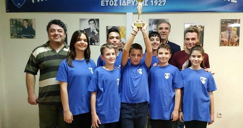 Πρωταθλήτρια Περιφέρειας ΑΜΘ και Σερρών η Σκακιστική