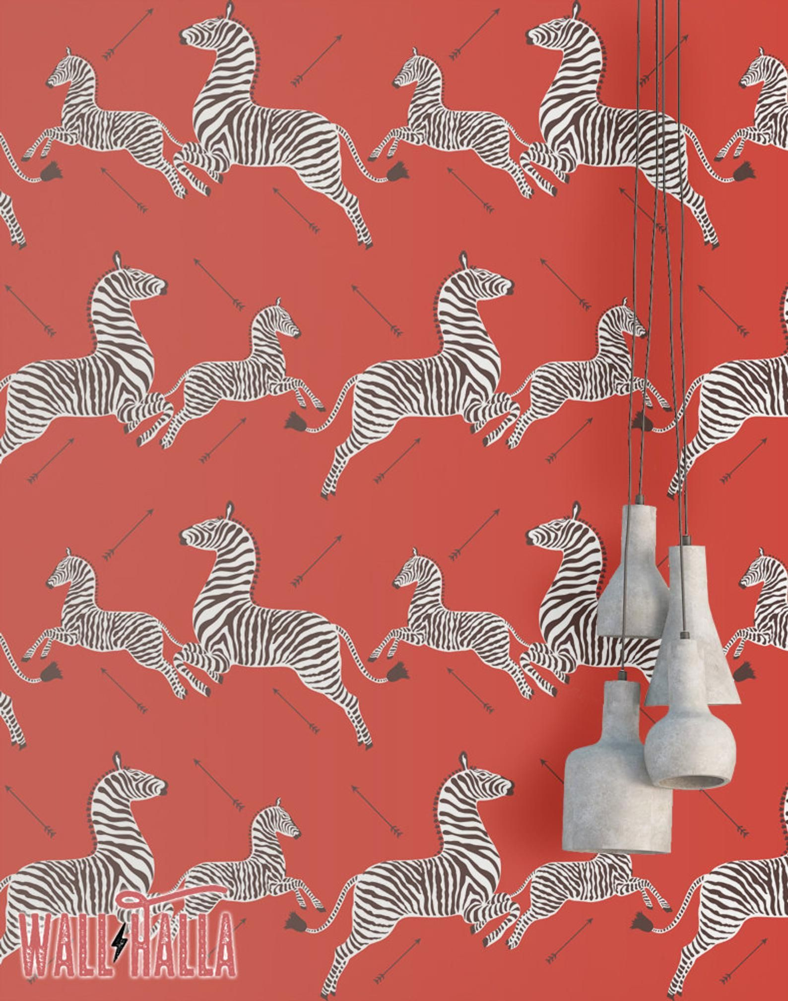 Red Zebra Wallpaper Peel And Stick Self Adhesive Wallpaper Etsy Fondo De Pantalla De Cebra Ideas De Fondos De Pantalla Papel Tapiz Autoadhesivo