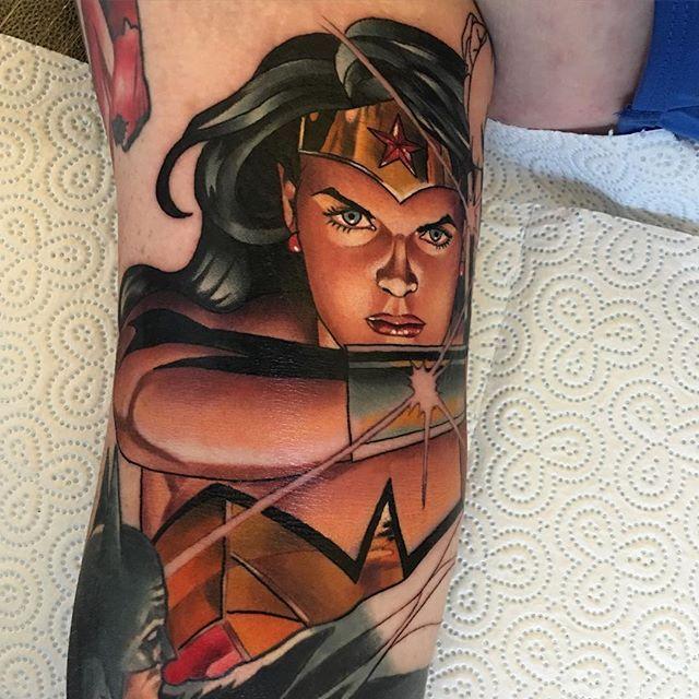 Alex Ross Wonder Woman i dag Tatoveringer Piercinger Pinterest-7089