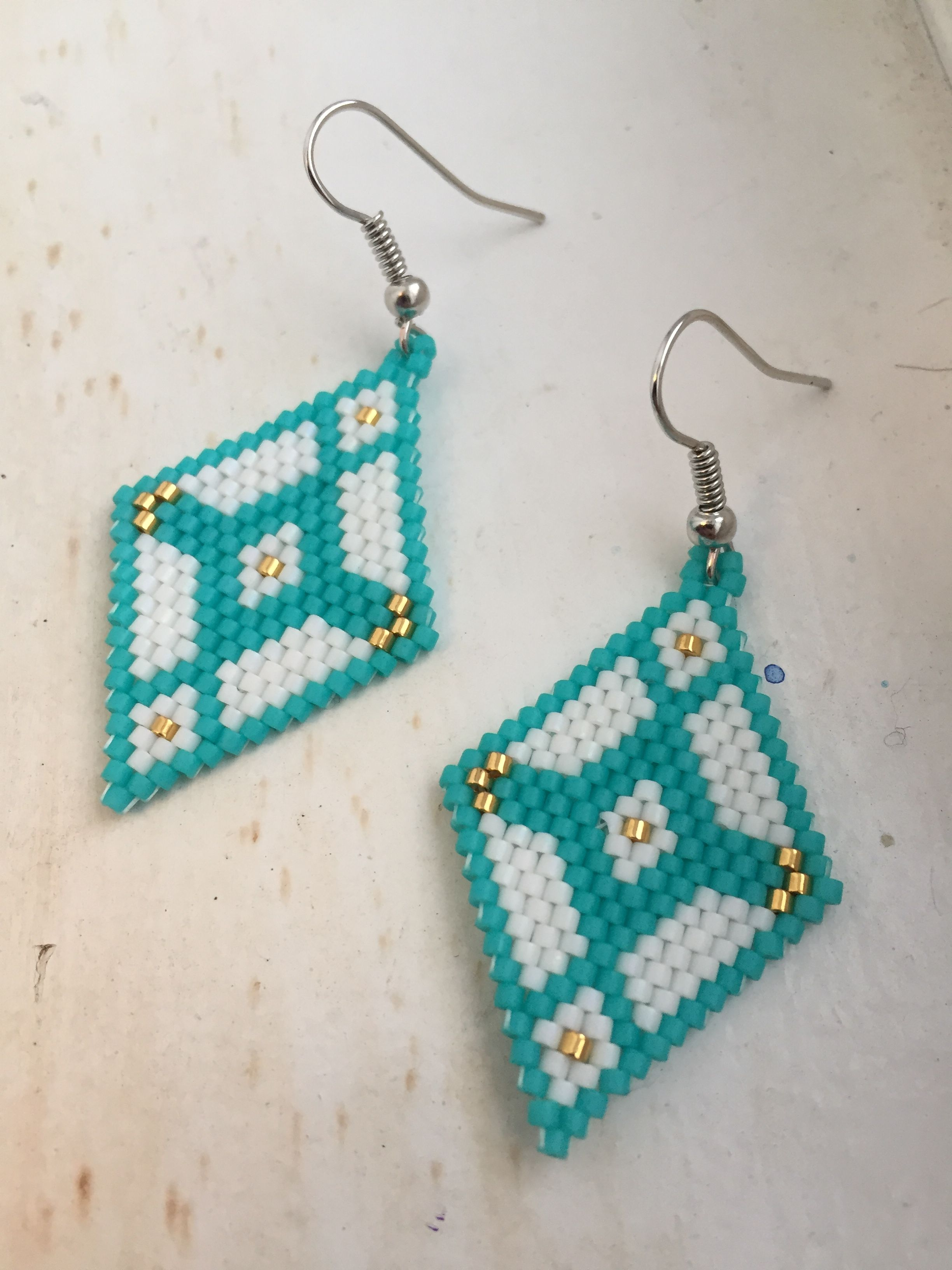 Native American Beaded Earrings Patterns Free Best Inspiration Design