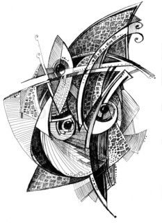 Abstract Unusual Pencil Drawing Abstract Pencil Drawings
