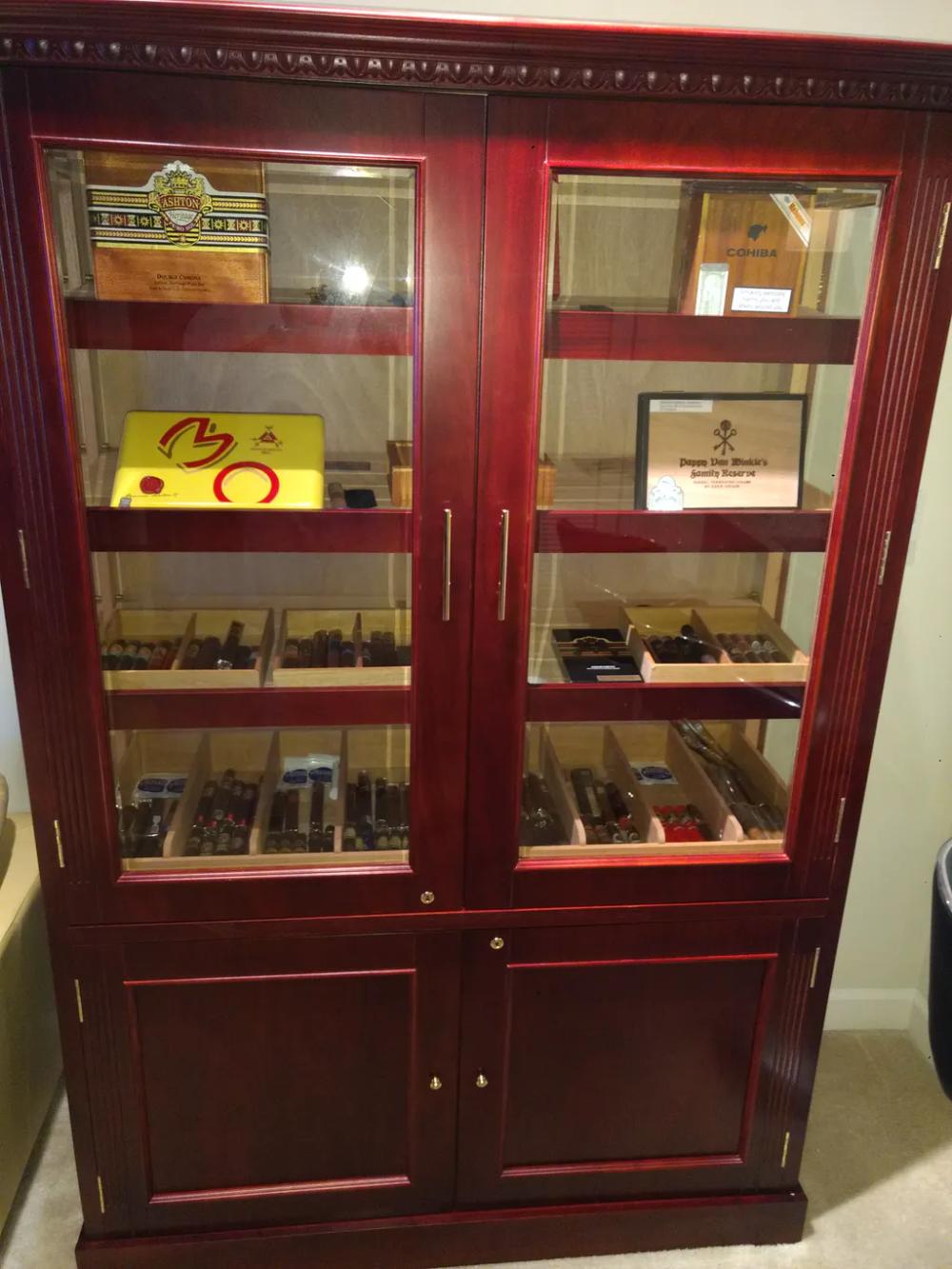 Saint Regis Humidor Cabinet Prestige Imports 4000 Cigar In 2020 Humidor Cabinet Humidor Cigar Humidor Cabinet