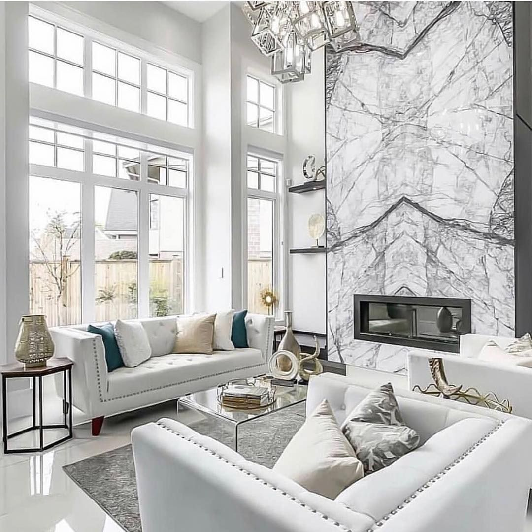 5 White and Silver Living Room Ideas That Will Inspire You - Home