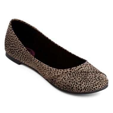 K9 by Rocket Dog® Mabyn Cheetah Print Ballet Flats found at @JCPenney