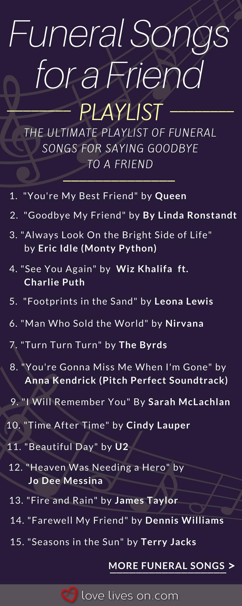 200+ Best Funeral Songs | DAFUCK?! | Funeral songs, Funeral