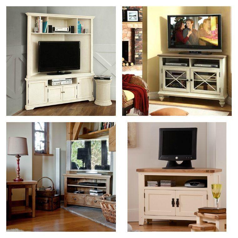 Meuble d\'angle TV : idées d\'aménagement intérieur | Idée de ...