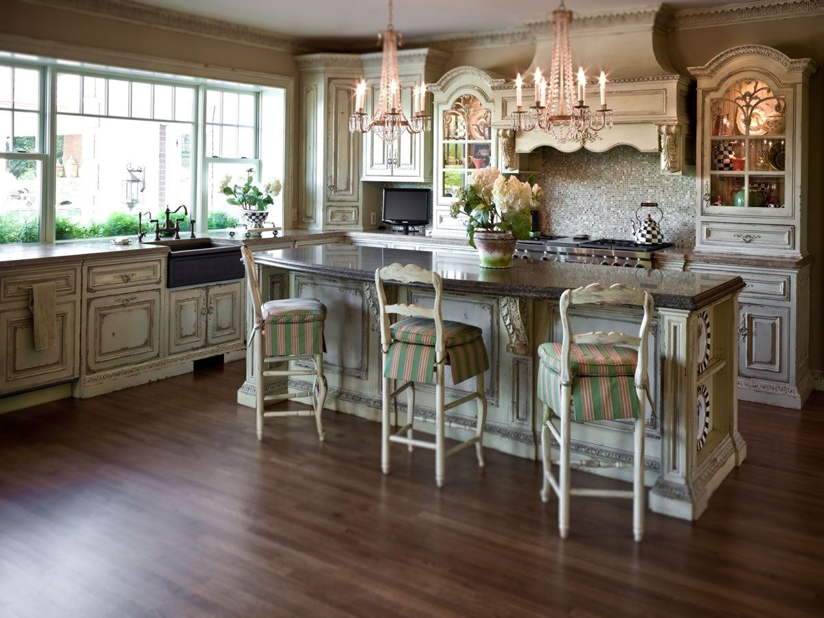Habersham Grand European Continental Casual Kitchen Cultivate Com Country Kitchen French Country Kitchen Chic Kitchen
