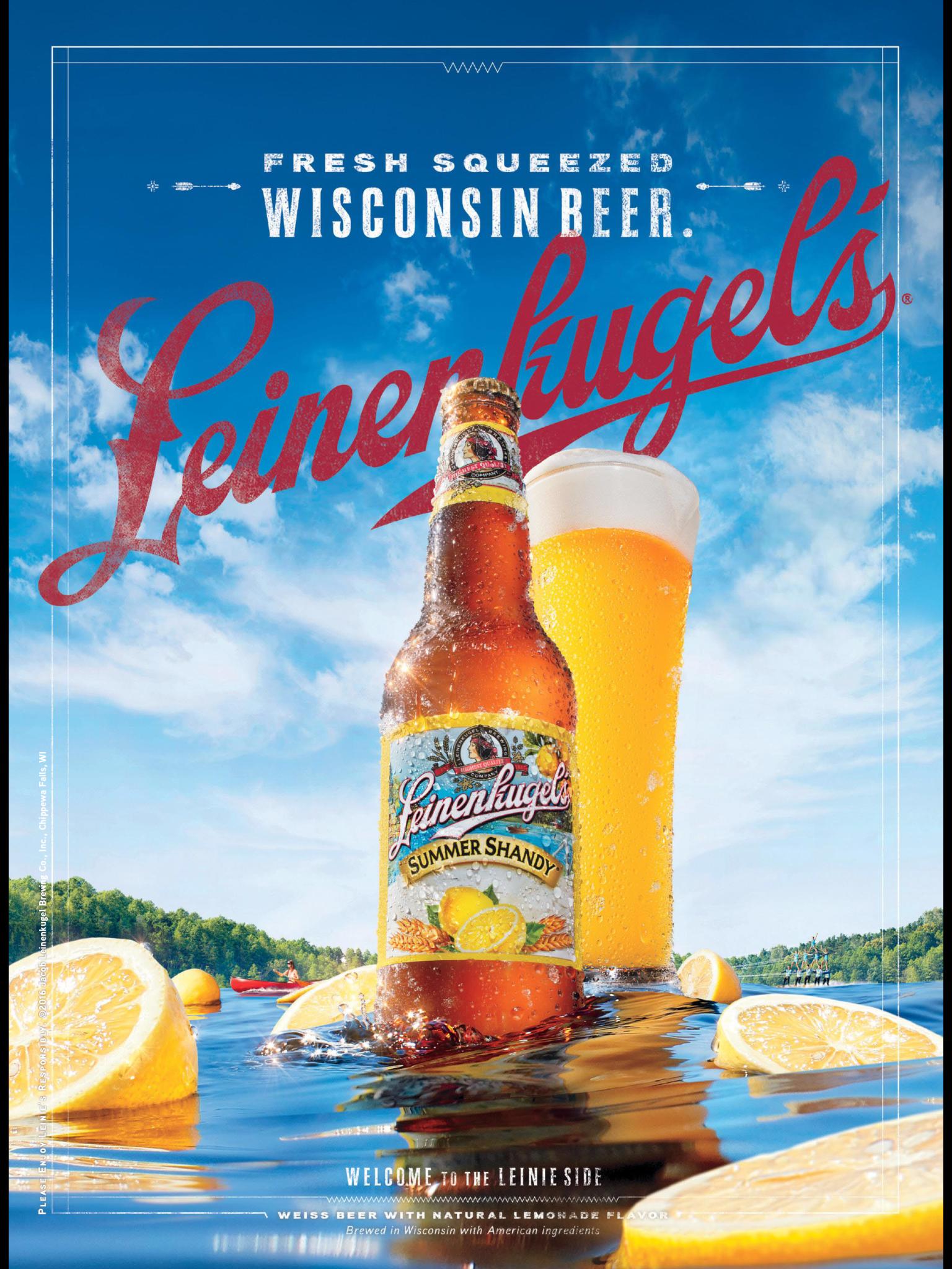 Leinenkugel S Beer Beer Poster Design Creative Poster Design Creative Posters