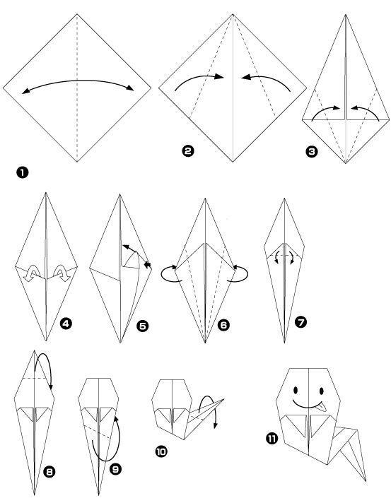 Diy halloween les p 39 tits fant mes origami maman tout faire diy objet pinterest diy - Origami 3d facile ...