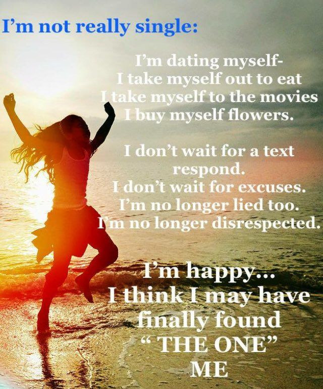 Single Life Happiness Poem Quote Poems Affirmations
