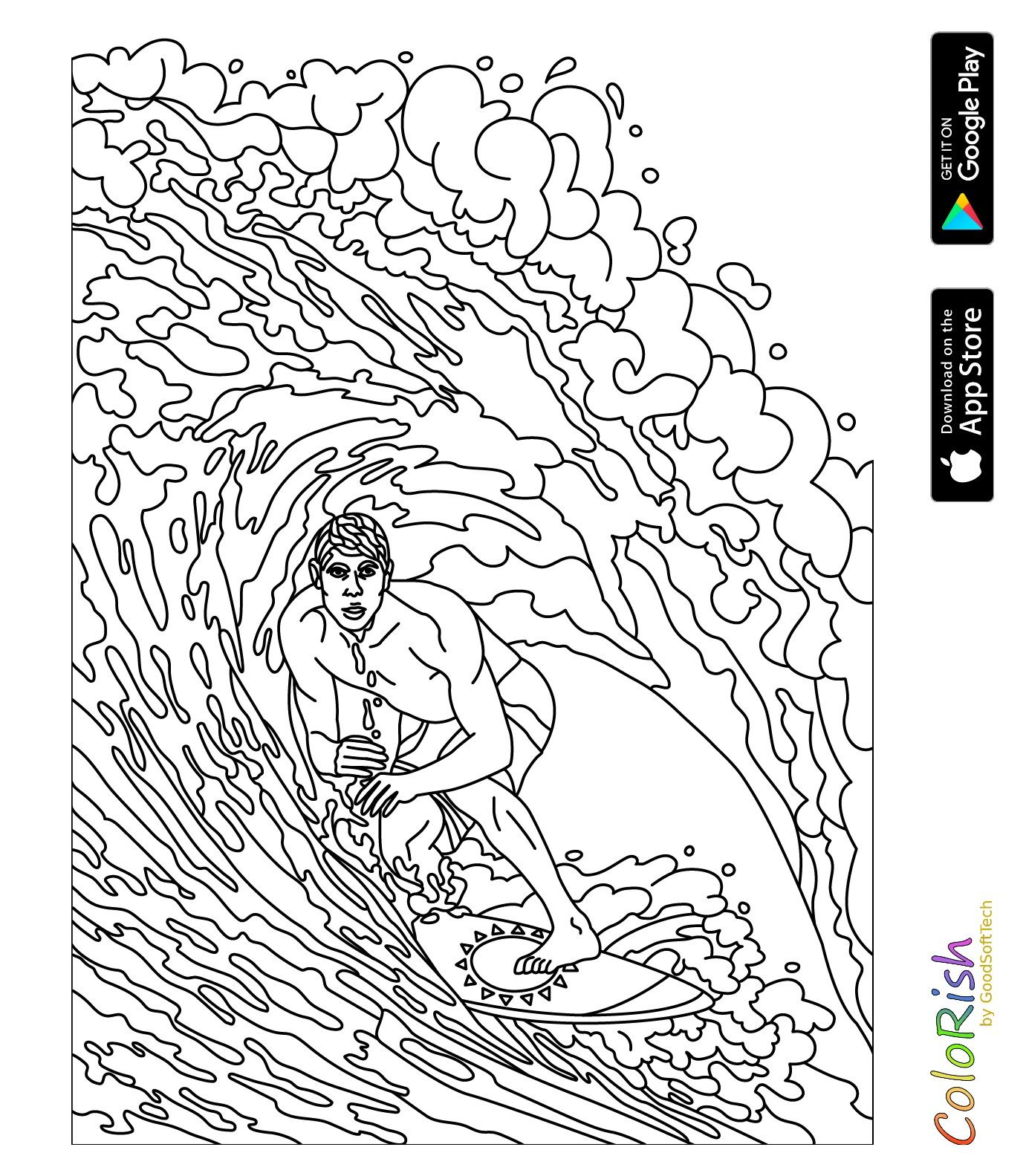Pin By Barbara On Coloring Sport Dance Yoga Colouring Pages Coloring Pages Abstract Artwork