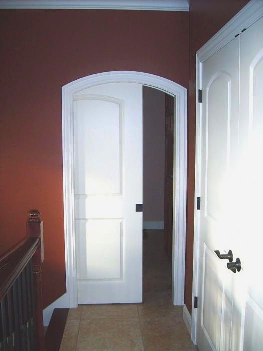 arched top pocket door, doors, home decor