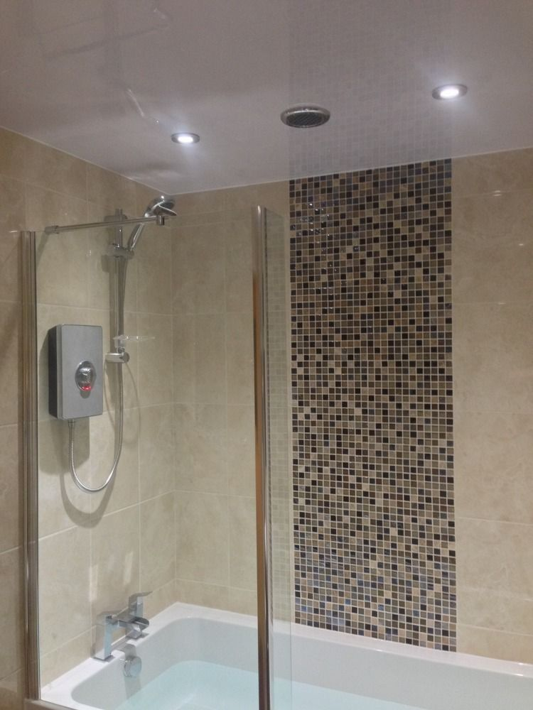 Image result for mosaic feature over bath