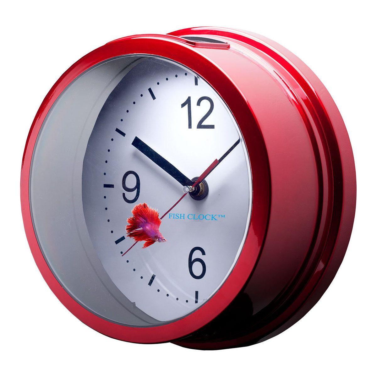 Betta Fish Clock By Aquavista Looks Cool But 1. I Donu0027t Have Or