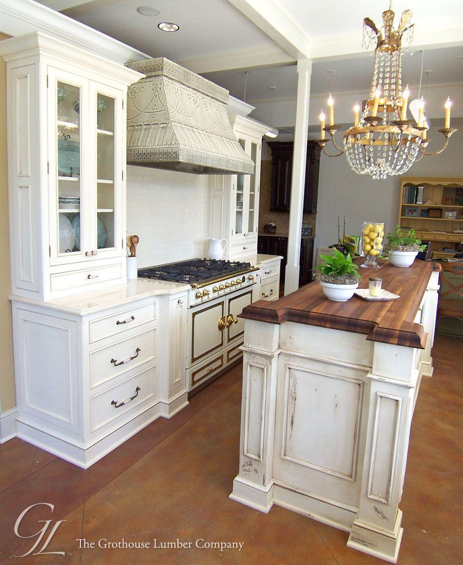 Kitchen Countertops Wood And Butcher Block: Walnut Wood Countertop Kitchen Island New Orleans