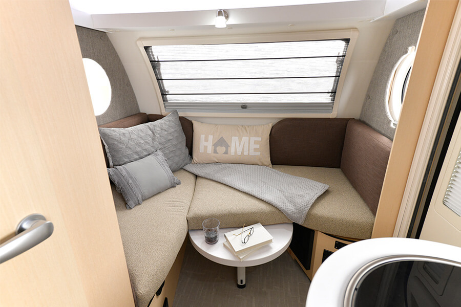 TAB 400 Camper - nuCamp RV | Bed sizes, Seating, Diamond plate