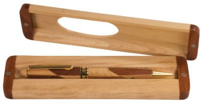 Custom Engraved Maple/Rosewood Pen with Case by SimpleEngravingLLC, $18.99