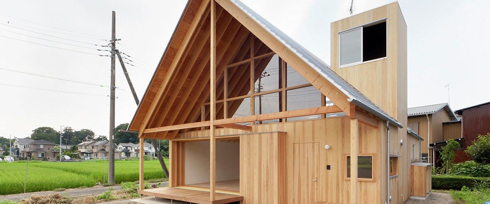 Charming timber home in Japan features an Africaninspired