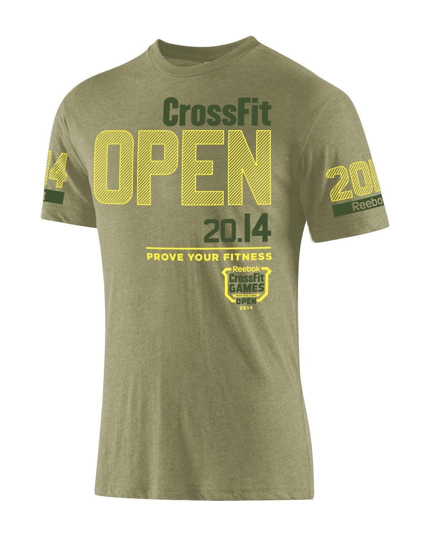 0d455f311e889 2014 Reebok CrossFit Open Tee Franelas, Ropa De Hombre, Marca, Polos,  Temporadas