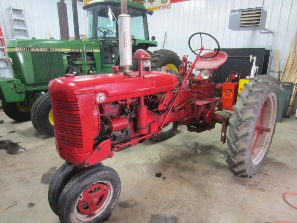 Farmall Super C Tractor - ONLINE ONLY AUCTION - Ending March 03, 2015. Dallas, Wisconsin.
