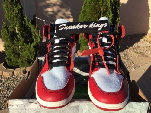 Jordan 1 Retro High Off-White Chicago Size 9 StockX 100%  4715732b1c5c