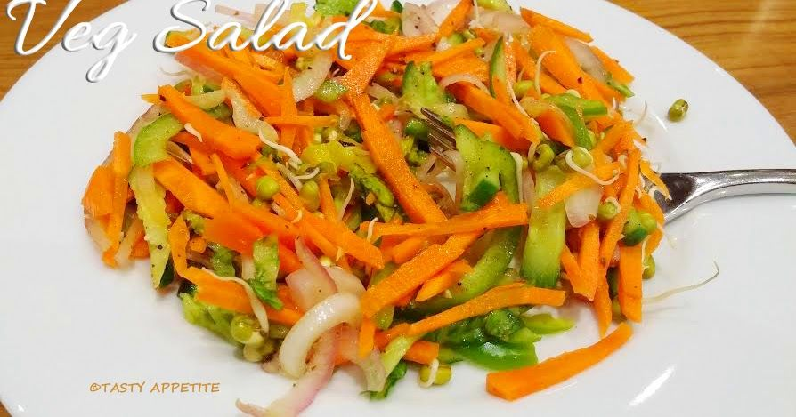 Vegetable Salad Recipes Easy Mixed