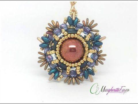Best Seed Bead Jewelry  2017  Tutorial perline Ciondolo Tik in collaborazione con Beadsmine