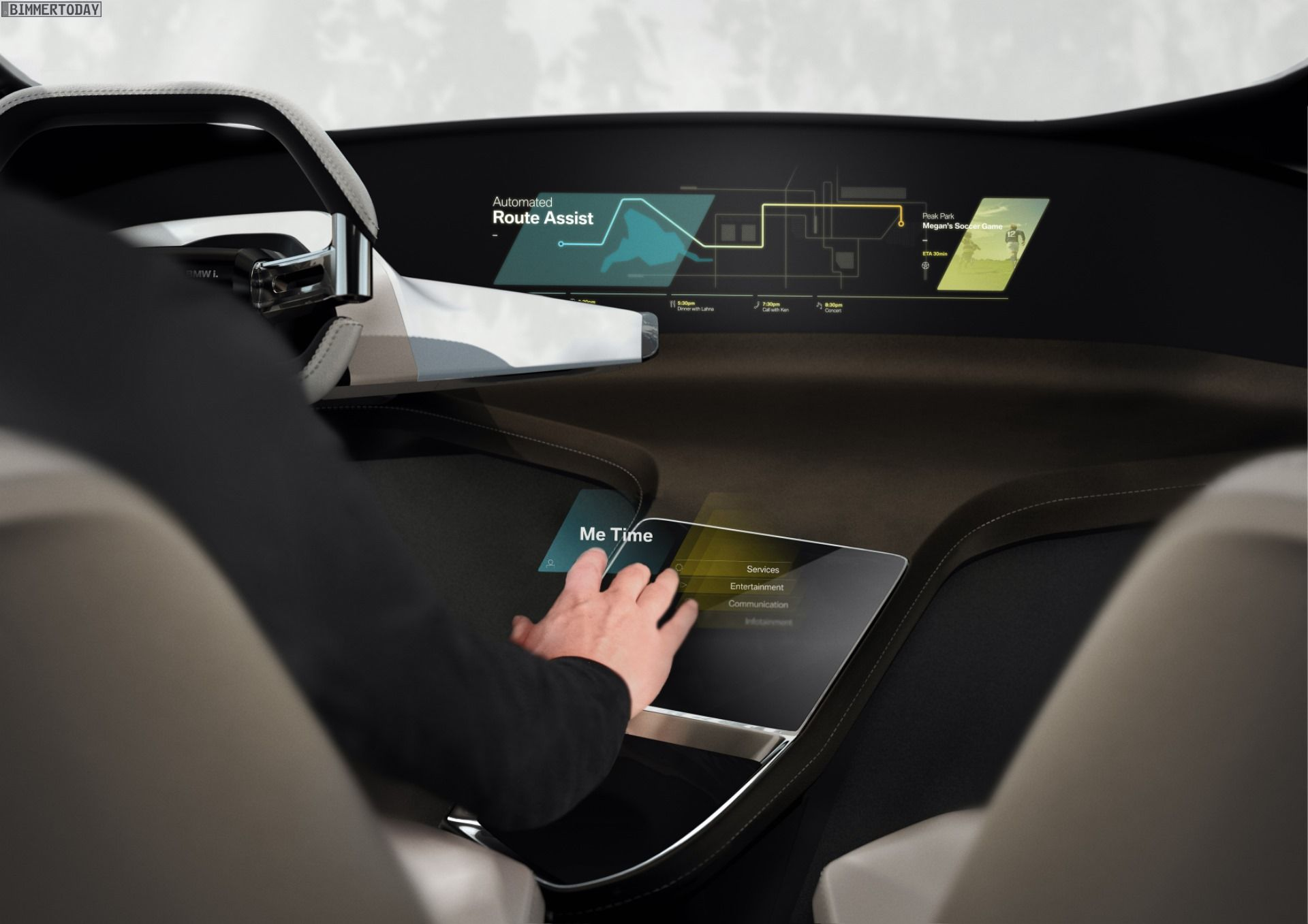 CES 2017 BMW HoloActive Touch