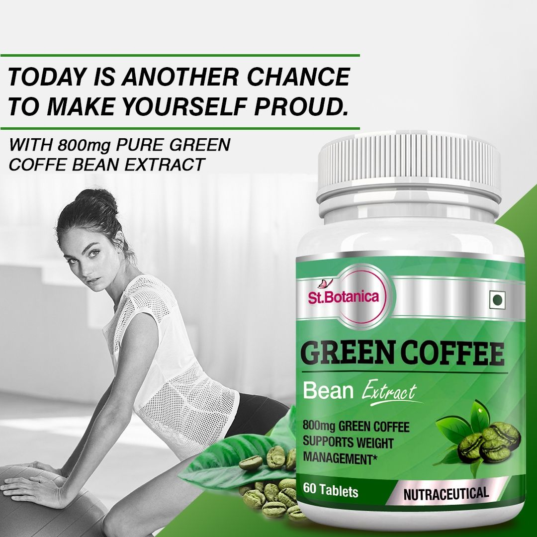 Stbotanica Green Coffee Bean Extract For Weight Management