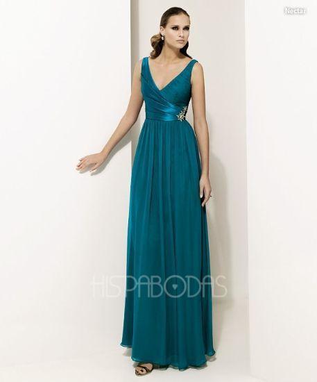 modelo nectar. coleccion vestidos de fiesta pronovias 2011