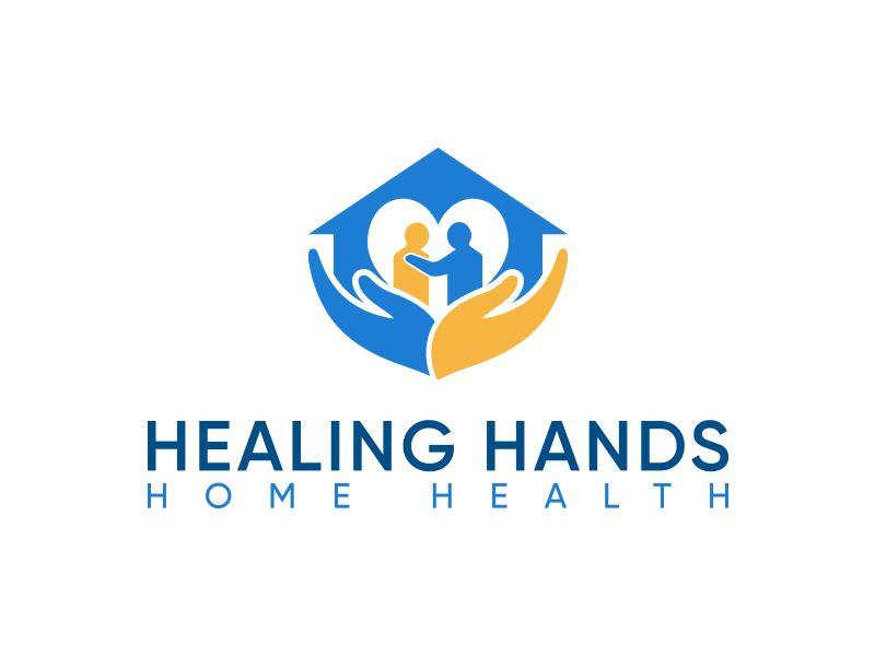 Astounding Healing Hands Home Health Logo Design Healing Hands Download Free Architecture Designs Scobabritishbridgeorg