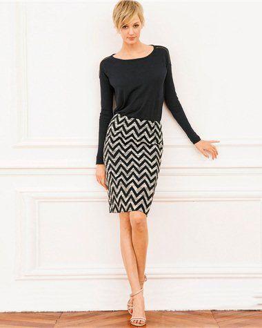 1b438ea379b4d7 Tendance : La jupe crayon ! | autres | Mode femme, Jupes crayon et Jupe