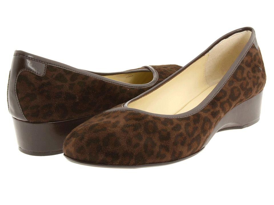 Taryn Rose Felicity Leopard Stretch Women