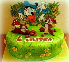 DONALD DUCK & CHIP AND DALE