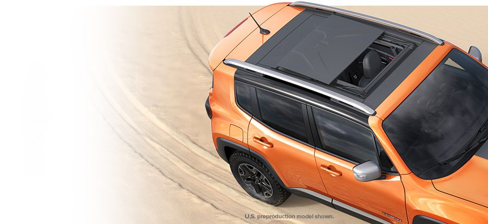 2015 jeep renegade my sky sunroof retracted 4x4 pinterest jeep renegade jeeps and compact suv. Black Bedroom Furniture Sets. Home Design Ideas