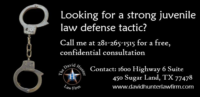 Looking for a strong juvenile law defense tactic? Here you are