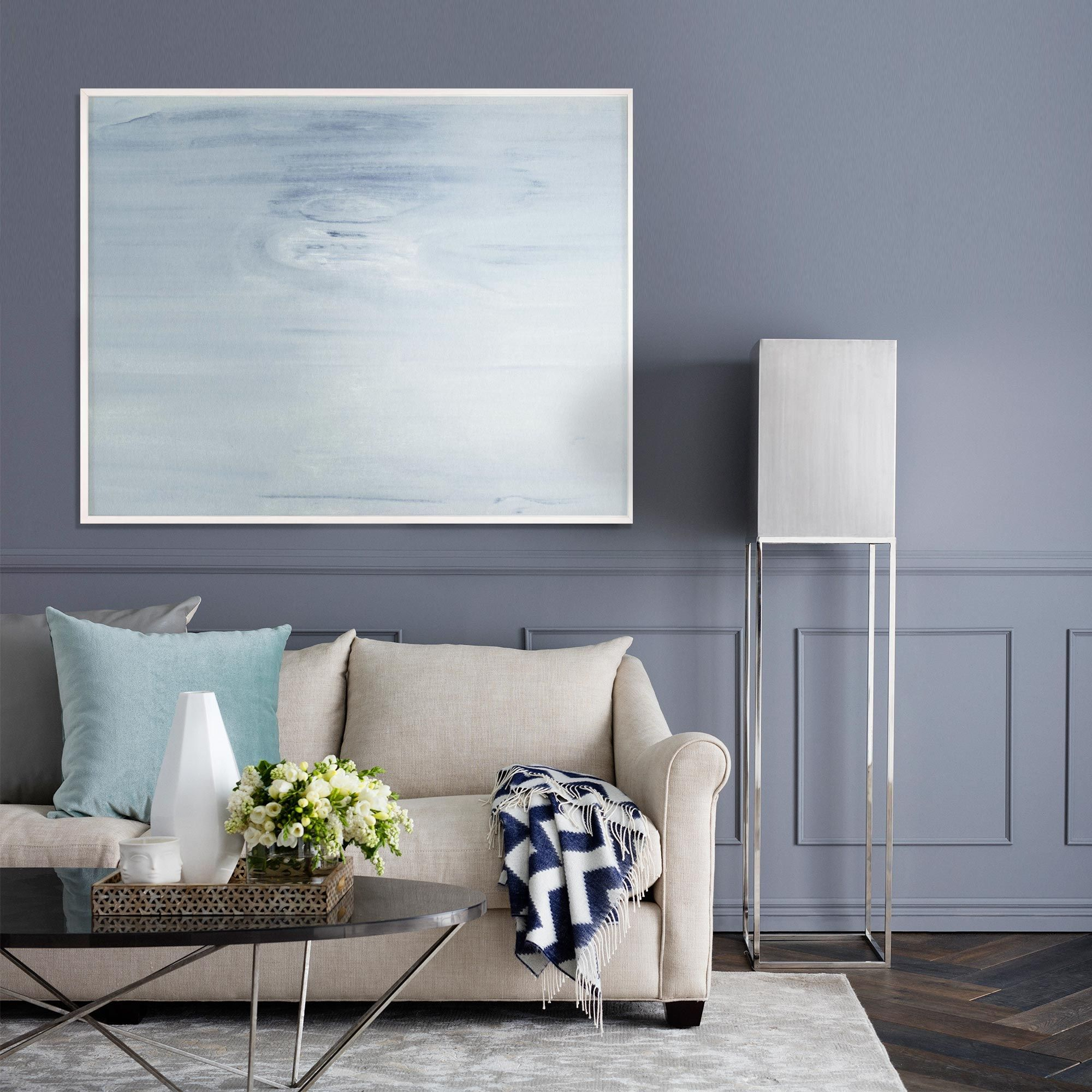 This Living Room Exudes Serenity With The Walls And: Whether Featured In A Bedroom Or Living Space, The
