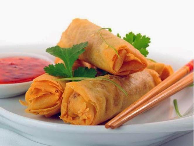 Resep Membuat Lumpia Goreng Enak Special Renyah Info Resep Masakan Resep Makanan Pembuka Resep Masakan Asia Resep Vegetarian