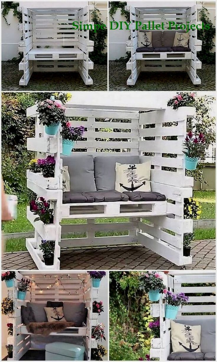 Photo of 15 Incredible Do It Yourself Pallet Ideas