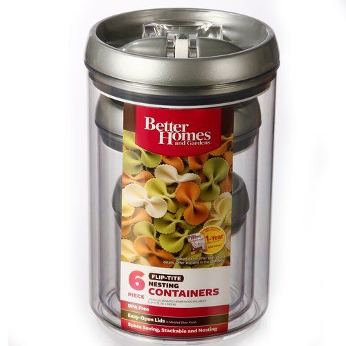 1d41ceaf809455b3355491fcb04ff986 - Better Homes And Gardens Flip Tite Containers 6 Piece