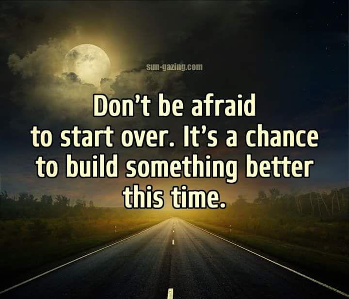 """""""Don't be afraid..."""