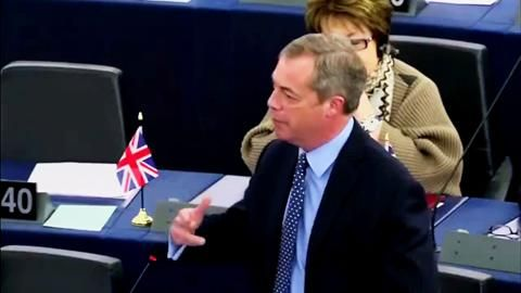 A Vote to Remain is a Vote for Turkey - UKIP LEADER Nigel Farage..apr16