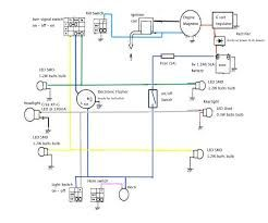 6 volt moped turn signal kit wiring diagrams - wiring ... 6 volt turn signal wiring diagram #1