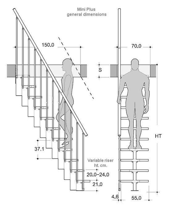 Escaleras, Diseño De Escalera, Construccion